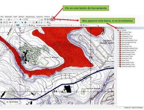 Crear polígono en ArcGis desde Excel
