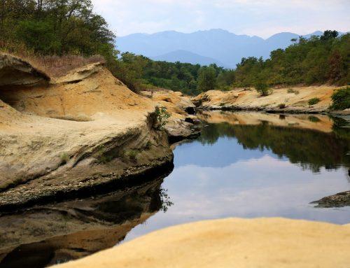 Erosión por las corrientes de agua