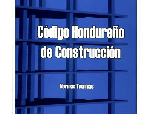 Código Hondureño de Construcción 2008